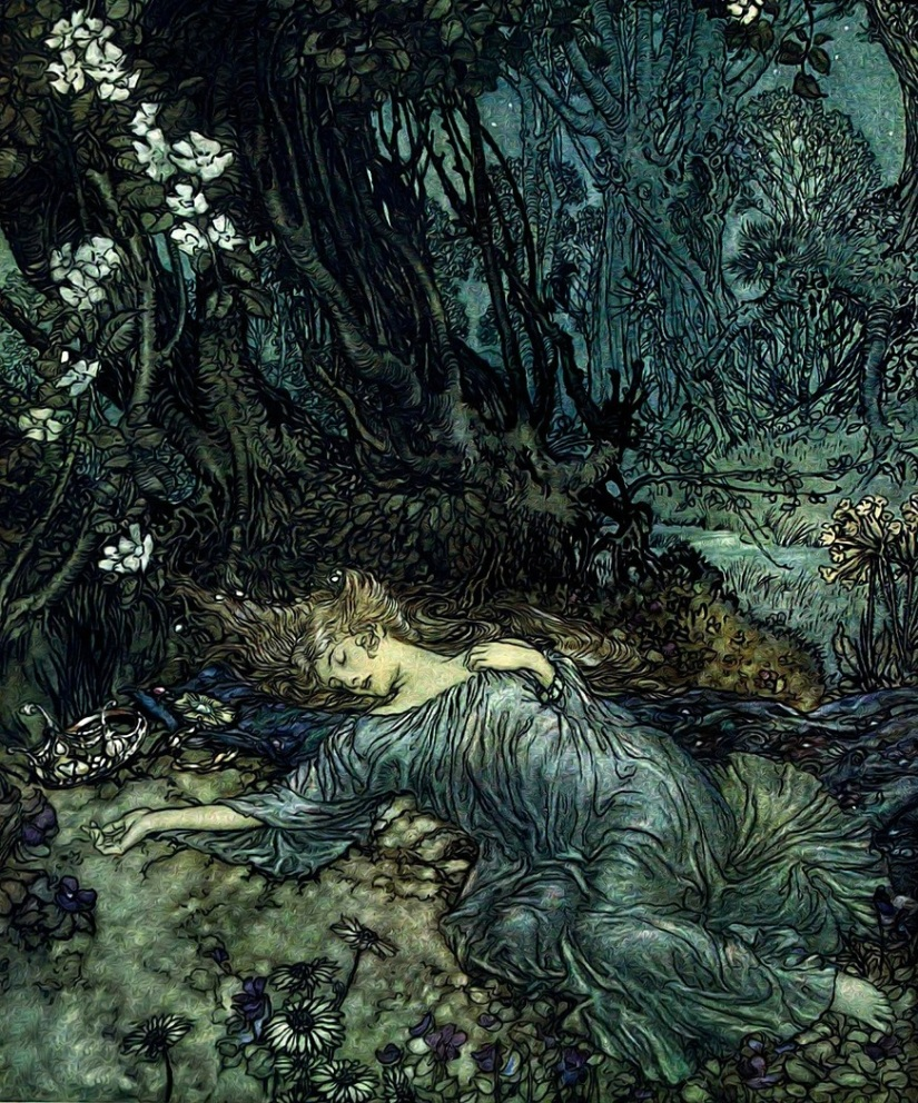 Ophelia's requiem, a poem in three acts